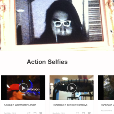Action Selfies